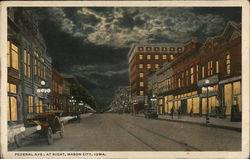 Federal Avenue at Night