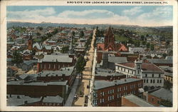 Bird's Eye View Looking up Morgantown Street