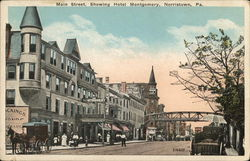 Main Street showing Hotel Montgomery