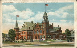 Escambia County Court House and Armory, No. Palafox Street