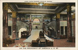 Lobby, Hotel Gadsden-On the Broadway of America, U. S. 80