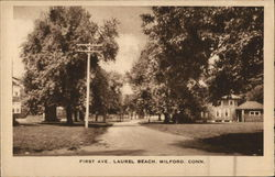 First Ave. at Laurel Beach