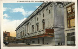 Eastman School of Music, Kilbourn Hall and Eastman Theatre