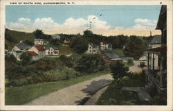 View of South Side Postcard
