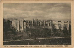 Virginia Military Institute from above Athletic Field