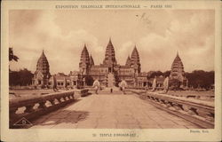 Exposition Coloniale International, Paris 1931 - Temple of Angkor Wat