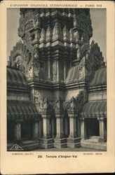 Temple d'Angkor-Vat - Esposition Coloniale Internationale - 1931