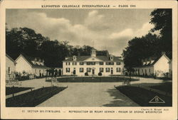 Exposition Coloniale International, Paris 1931 - Mount Vernon