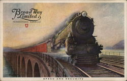 Broad Way Limited - Pennsylvania Railroad