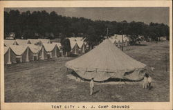 Tent City - N.J. Camp Grounds