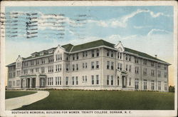 Trinity College - Southgate Memorial Building for Women Postcard
