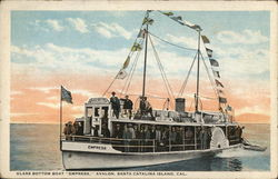 "Glass Bottom Boat ""Empress,"" Avalon"