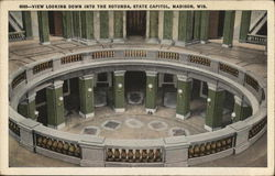 State Capitol - View Looking into the Rotunda