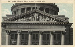 South Pediment, State Capitol