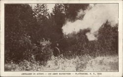 Artillery in Action-1st Army Maneuvers, 1939