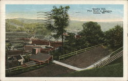 Quality Hill, Pilot Knob in Distance Postcard