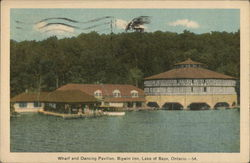 Bigwin Inn - Wharf and Dancing Pavilion