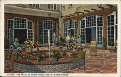 La Fonda Hotel - The Patio