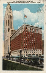 The Deshler-Wallick Hotel and American Insurance Union Citadel