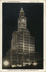 "Elverson Building, ""Home of the Phila. Inquirer"""