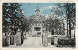Highland Hall Postcard