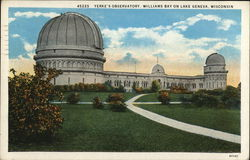 Yerke's Observatory, Williams Bay on Lake Geneva