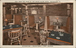 Coal Mine Tap Room at the Necho Allen Hotel
