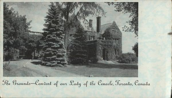 Convent of Our Lady of the Cenacle - The Grounds Toronto Canada