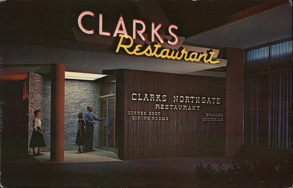 Clark's Northgate Restaurant Seattle Washington