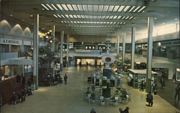 Interior of Midtown Plaza Rochester New York
