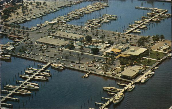 Magnificent Air View of Bahia Mar Fort Lauderdale Florida