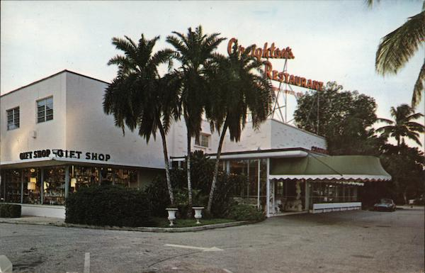 Creighton's Restaurant and Museum of Antiques Fort Lauderdale Florida