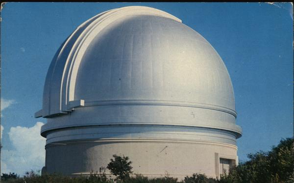 Observatory, Palomar Mountain California