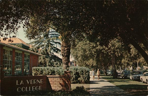 La Verne College and Grounds California