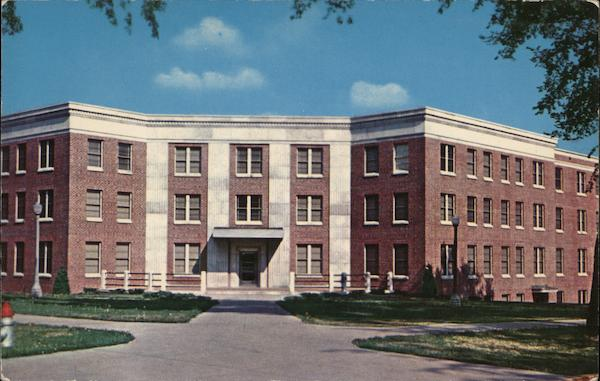 Iowa State Teachers College - Campbell Hall, Women's Dormitory Cedar Falls