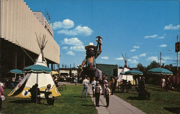 Klondike Mike and the Edmonton Exhibition Grounds Canada