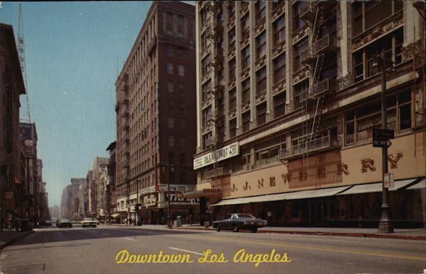 Downtown Los Angeles California Photographic Art