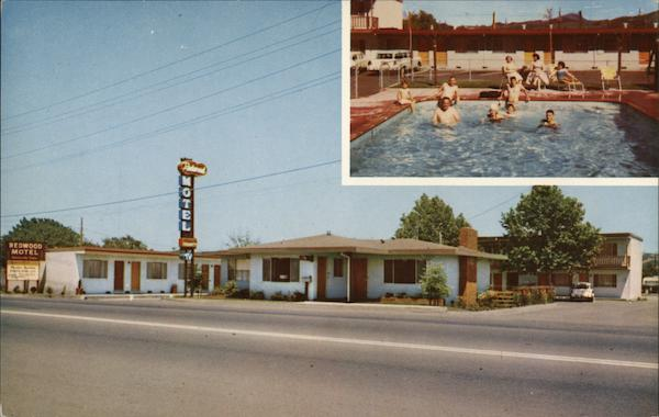 Redwood Motel Santa Rosa California