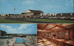 New Hampshire Highway Hotel Postcard
