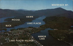 Aerial View, Lake Placid, New York