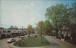 The Village Green Postcard