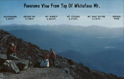 Panorama View From Top of Whiteface Mountain