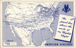 Route of the Flagship Flight, American Airlines