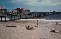 Fishing Pier Postcard