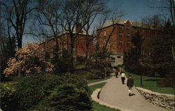 Boston College - Kostka and Gonzaga Halls Postcard