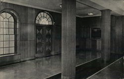 Maryknoll Seminary - Foyer Postcard