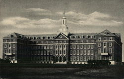 Front View of Main Building - Maryknoll Seminary Postcard
