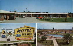 Motel Seaside Fernandina Beach, FL Postcard