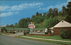 Coachman Motel Postcard