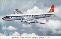 Northwest Oriental Airlines Imperial Service DC-7C